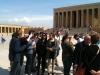 At the Ataturk\'s Mausoleum, Ankara