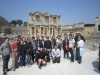 In front of the Celsius Library, Ephesus