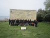 In front of Ataturk\' famous words, Gallipoli