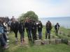 Simpson\'s grave at Gallipoli