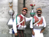 Men in traditional dress, Istanbul, Turkey