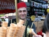 Turkish Ice Cream Seller