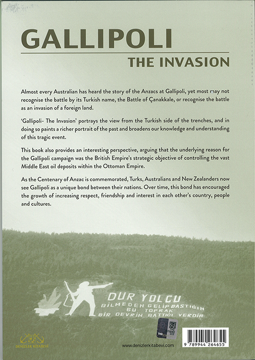 Gallipoli- The Invasion Front Back